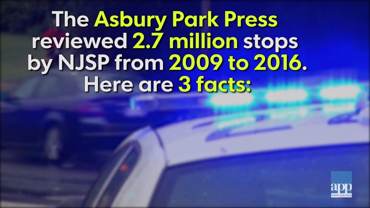 Three facts about State Police stops in NJ
