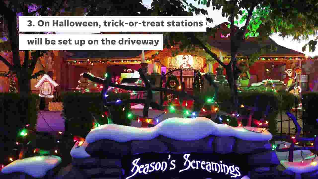 """5 things to know about """"Nightmare Before Christmas""""-inspired Tempe home"""