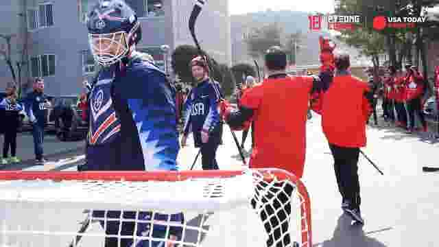 olympic broomball
