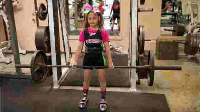 tuloso midway fourth grader breaking powerlifting records
