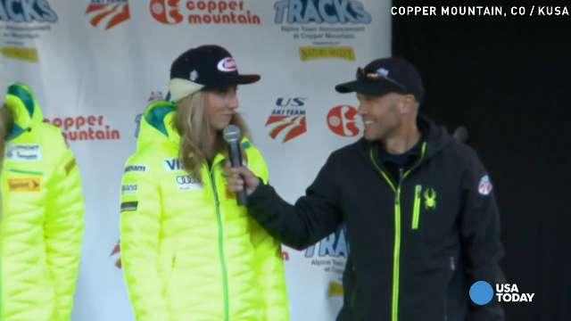 Mikaela Shiffrin won gold in the giant slalom at the Winter Olympics