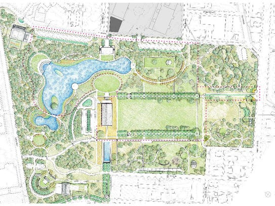 Nashville39s Centennial Park Phase Two Detailed