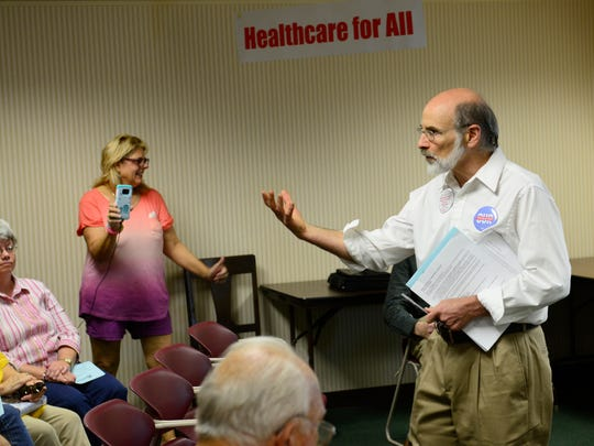 Dennis Slotnick of Genoa, regional coordinator for Single-Payer Action Network Ohio, said he has never seen the public as receptive as it is now to single-payer health care.