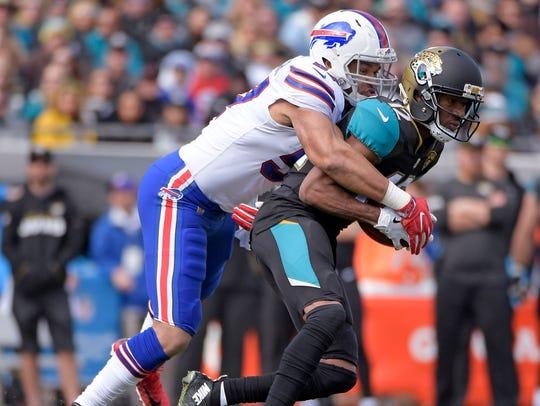 Jacksonville Jaguars wide receiver Dede Westbrook,