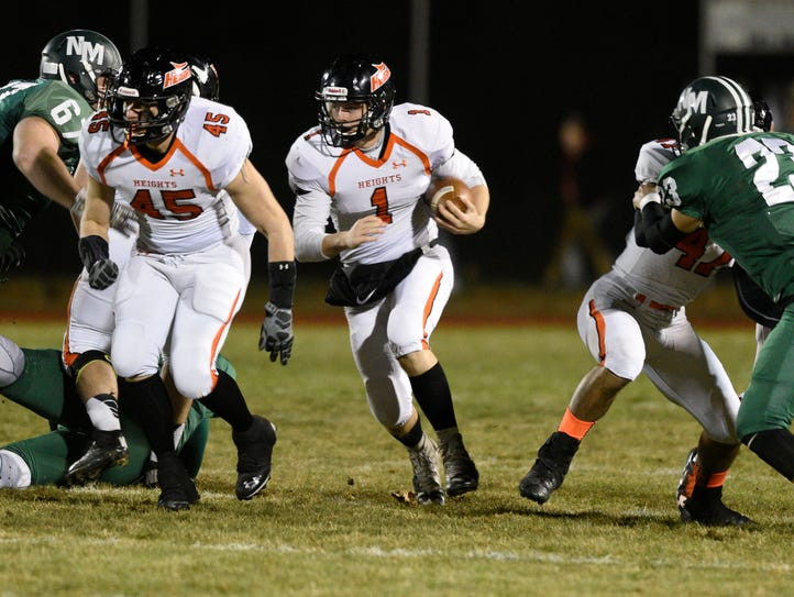 Hasbrouck Heights at New Milford on Friday, November