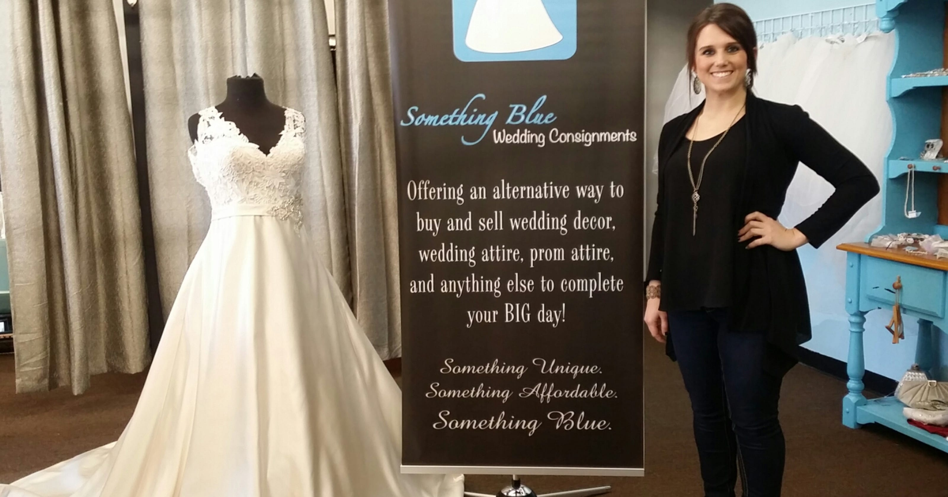 Something Blue Carries New Used Wedding Items
