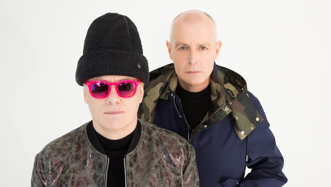 Pet Shop Boys Chris Lowe, left, and Neil Tennant released their first album 30 years ago.