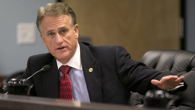 Former Arizona Corporation Commissioner Gary Pierce, shown in 2013, has been questioned by federal investigators.