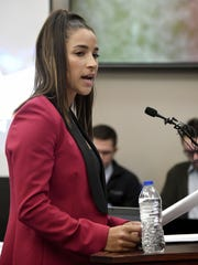 Olympic gold medalist Aly Raisman gave her victim impact statement on the fourth day of sentencing for former sports doctor Larry Nassar.