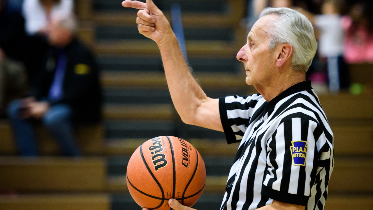 Don Middleton is putting away his whistle after 45 years as a York County basketball referee.