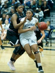 Bishop Kearney's Saniaa Wilson received her first offer of a scholarship from Syracuse University, as an eighth-grader.