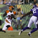Bengals notes: RBs with opportunity, reaction to cuts
