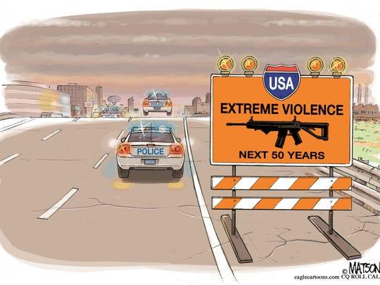 RJ Matson, Roll Call, drew this editorial cartoon.