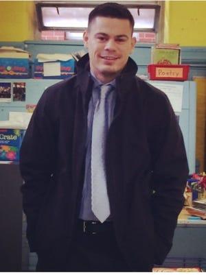 Mark Sylaj, a teacher at the Enrico Fermi elementary school in Yonkers.