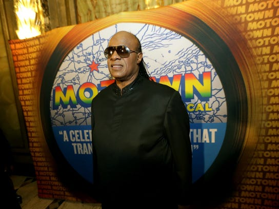 Stevie Wonder attends the red carpet premiere for