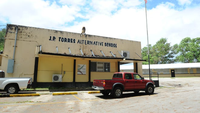 J.P. Torres Alternative School is seen on April 7, 2015. The school was renamed J.P. Torres Success Academy in August 2017.
