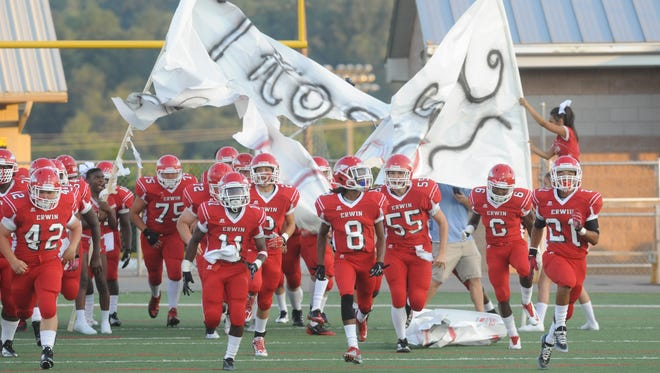 Erwin improved to 7-0 with Friday's win at McDowell.