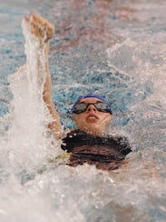 Sussex Tech HS and Sussex Central HS held their swim
