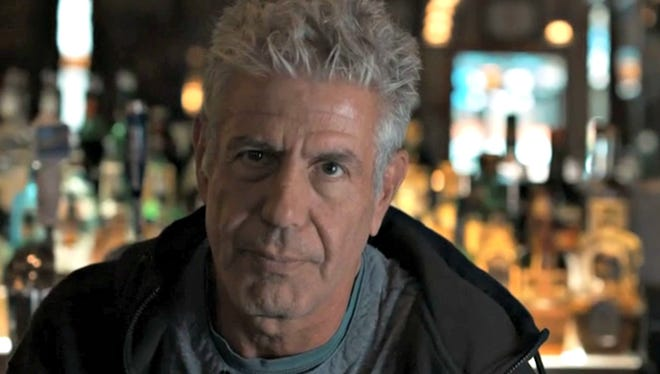 Anthony Bourdain in a scene from the Nashville episode of CNN's 'Parts Unknown'