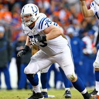 Colts offensive lineman Jack Mewhort might be the answer at right tackle.