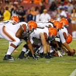 The offensive linemen are confident they could be the identity of the Cleveland Browns.