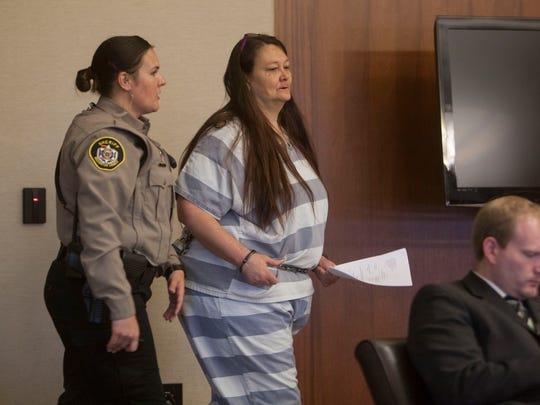 Tammy Freeman changes her plea in 5th District Court