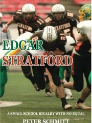 A screen shot of the cover for the book by Peter Schmitt on the Edgar and Stratford football rivalry.