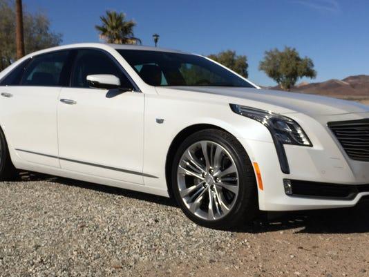 2016 Cadillac CT6 in California