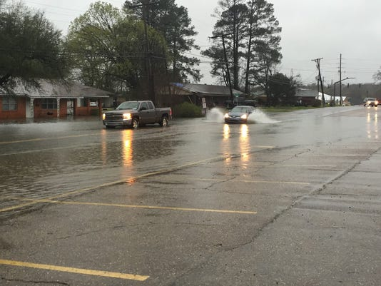 West Monroe High Flooding Three
