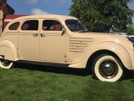 1934 Chrysler Airflow sedan