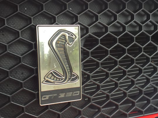 The Shelby GT350's Cobra badge goes back to the model's birth in 1965