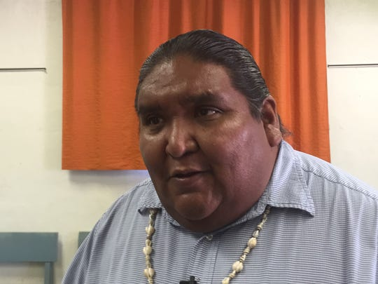 Tohono O'odham Nation vice chairman Verlon Jose is a vocal opponent of Trump's proposed border wall. He said the tribe will try diplomacy first, but is prepared to stage a protest that would rival Standing Rock.