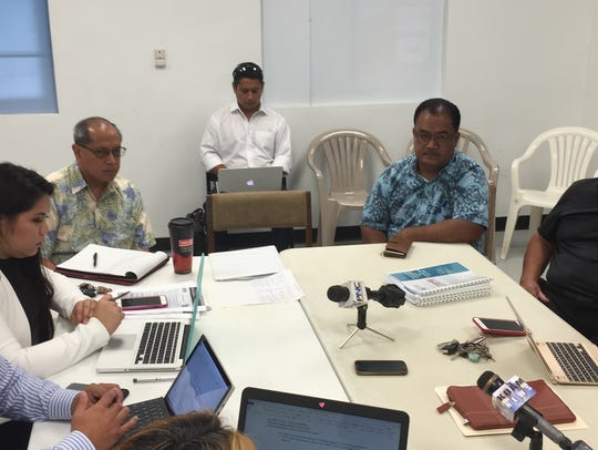 Guam Academy Charter Schools Council chairperson Amanda