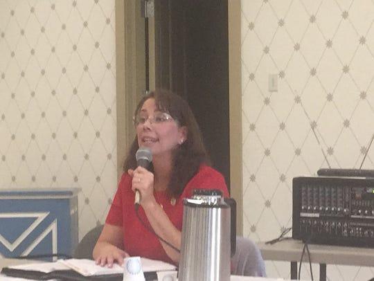 Karen Mallard, candidate for the Democratic nomination