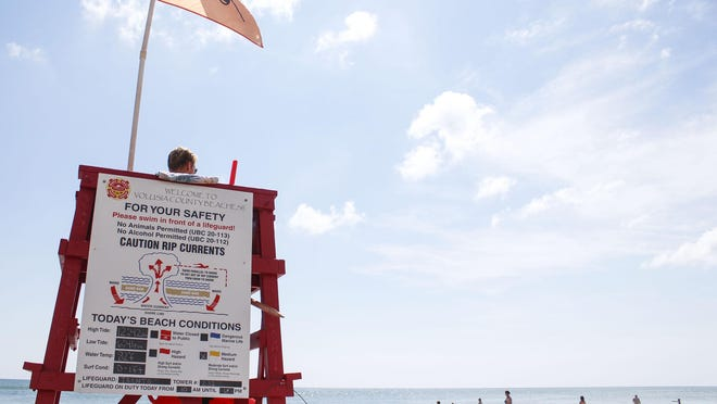 Since the beginning of May, there have been more than 1,000 rescues from Volusia County beaches. Officials link the increase to more people visiting the beach during the pandemic.