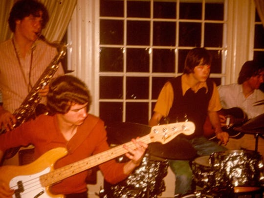 The Big Z Blues Band in the 1970s.