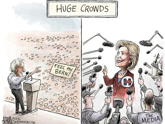 Measuring huge crowds