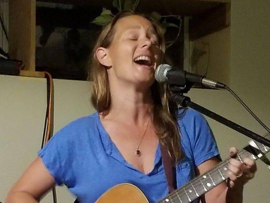 Local singer-songwriter Katherine Easterling plays