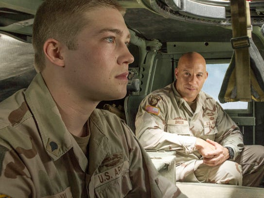 Joe Alwyn is  Billy Lynn  and Vin Diesel is  Shroom