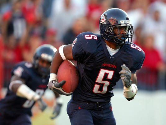 new product 8e25f dc471 Antoine Cason of the Arizona Wildcats in a 2004 game. Cason was the last  first-round pick from Arizona. (Photo Harry HowGetty Images)