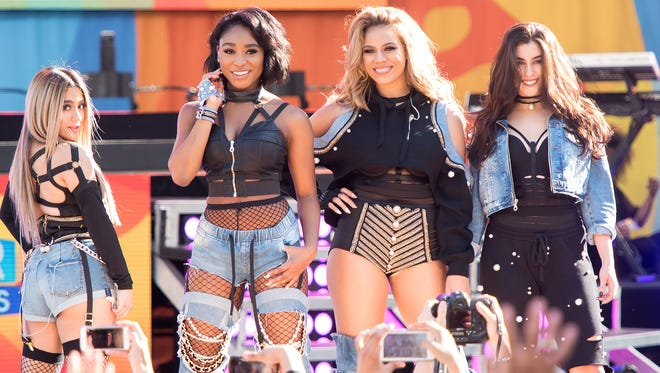 """Fifth Harmony performs on ABC's """"Good Morning America"""" in Central Park on June 2, 2017."""