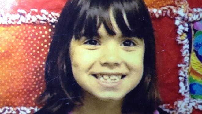 This undated photo shows Jenise Paulette Wright, 6, who is missing and was last seen Aug. 2, 2014, at her home in east Bremerton, Wash.