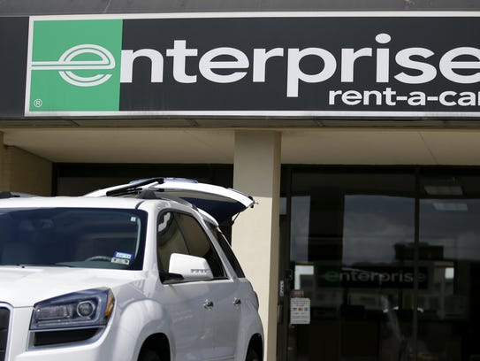 Enterprise has sent in roughly 3,000 cars to  Southeast