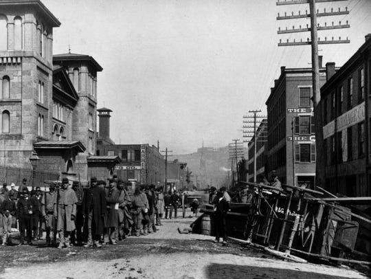 Hamilton County jail riots of 1884