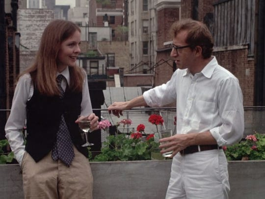 """Diane Keaton, left, and Woody Allen in a scene from the 1970s film, """"Annie Hall,"""" which kicks off Cornell Cinema's annual Cinema Under the Stars with a Wednesday night screening at Willard Straight Terrace."""
