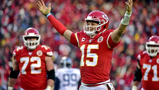 Kansas City Chiefs quarterback Patrick Mahomes reportedly has reached a 10-year extension that will make him the highest paid player in NFL history.