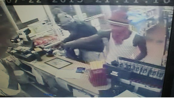 Humboldt police are investigating a Wednesday night robbery of a gas station