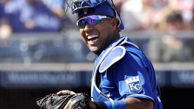 Coming off a knee injury in 2019, Kansas City Royals catcher Salvador Perez had a big, albeit brief, 2020 season in his return. His health will be key for the Royals this season.