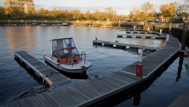 The Wiggins Marina is one of the current attractions along the Camden Waterfront but a developer wants to expand the area with shopping  and housing.