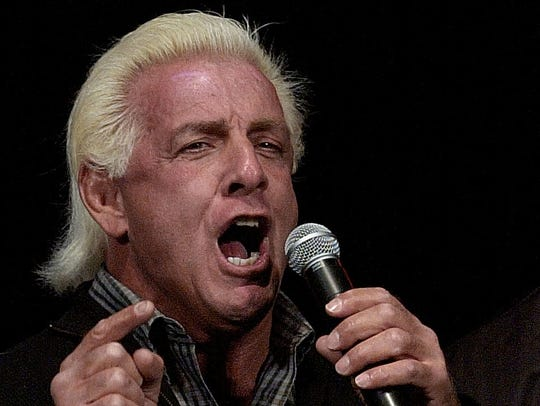 Ric Flair, a Virginia fan and Charlotte resident at